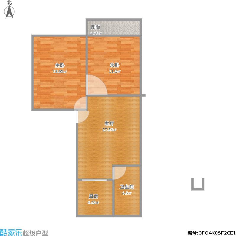 华宝花园两室一厅