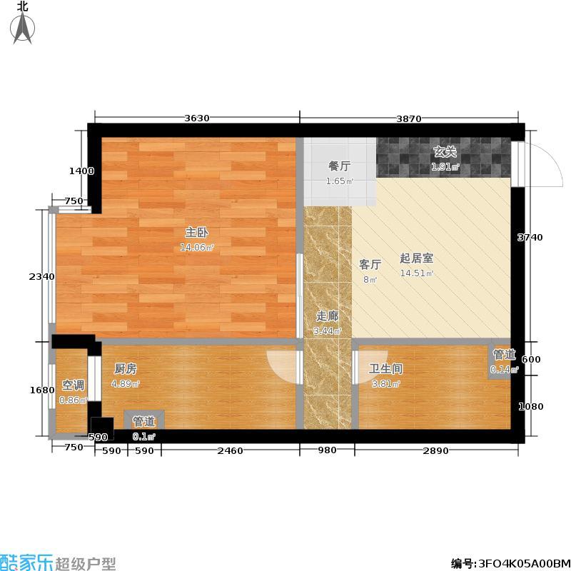 丰侨公寓C1-K12户型