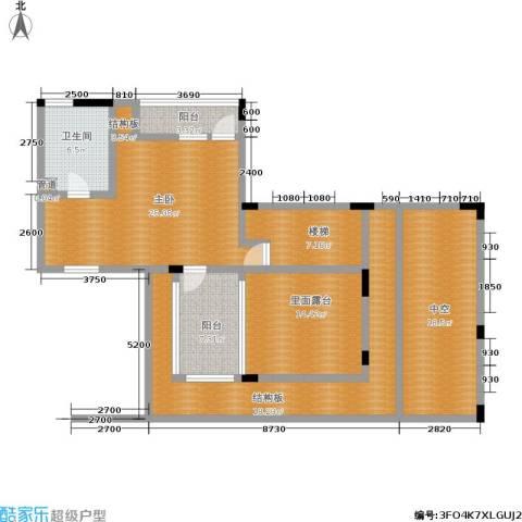 万科西街庭院 西街花园1室0厅1卫0厨149.00㎡户型图