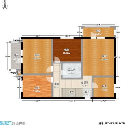 阳光新园2室0厅1卫1厨113.00㎡户型图