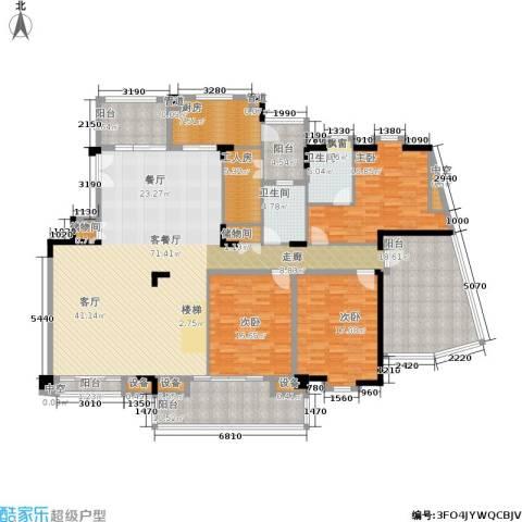 金海岸花园・聚湖3室1厅2卫1厨291.00㎡户型图