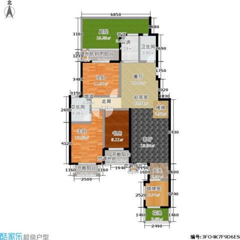 紫御美墅3室0厅2卫1厨146.00㎡户型图