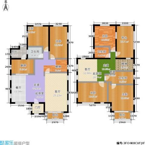 雅典娜庄园5室0厅3卫1厨259.00㎡户型图