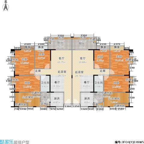 东海花园6室0厅2卫2厨183.72㎡户型图