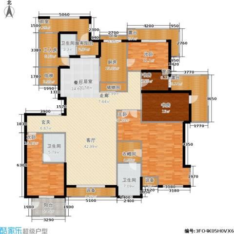 金屋·秦皇半岛5室0厅3卫1厨252.00㎡户型图
