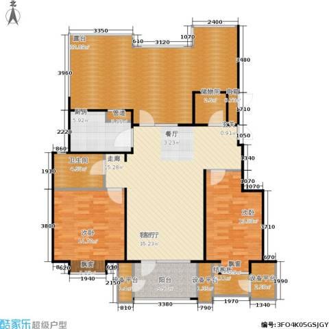 康城·瑞河兰乔2室1厅1卫1厨122.65㎡户型图