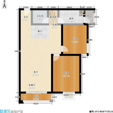 阿曼寓所1厅1卫1厨98.00㎡户型图