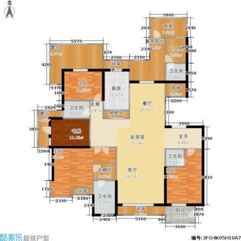 金屋·秦皇半岛4室0厅4卫1厨254.00㎡户型图