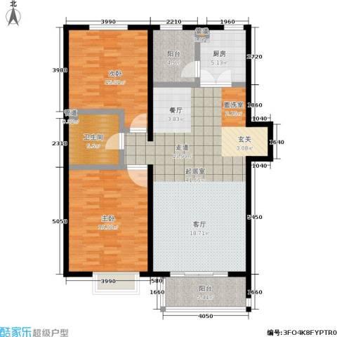阿曼寓所2室0厅1卫1厨109.00㎡户型图