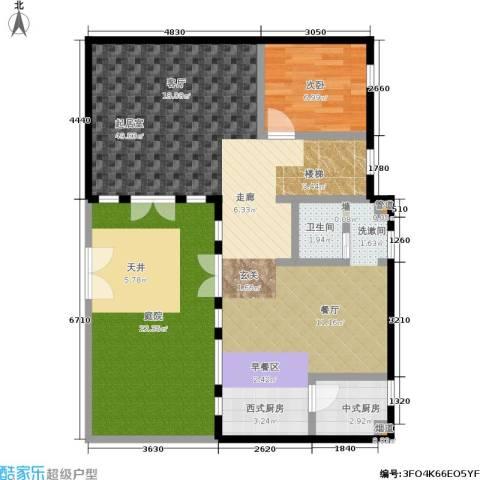 绿地公元18601室0厅0卫0厨171.00㎡户型图