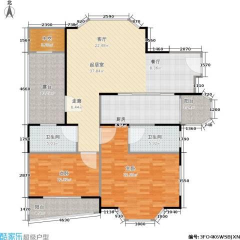 金汇名人苑2室0厅2卫1厨153.00㎡户型图