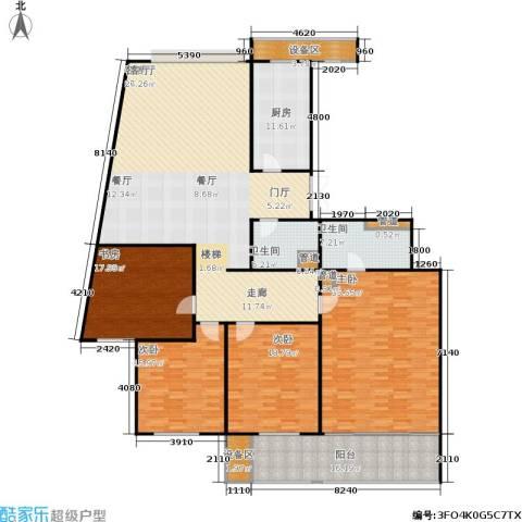 凤起都市花园4室1厅2卫1厨212.00㎡户型图