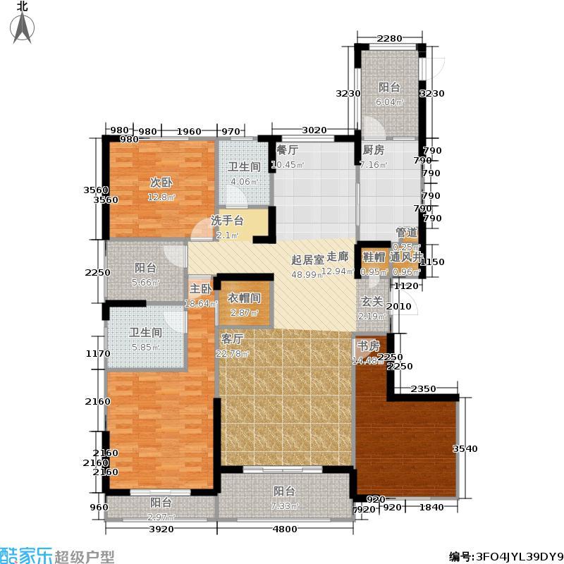 泛海国际居住区171.99㎡8栋8-1-1户型