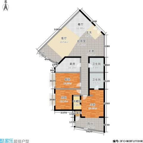 中国第一商城3室0厅2卫1厨178.00㎡户型图