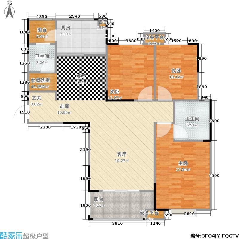 东工企业家苑12074.00㎡三期5号楼5-D户型