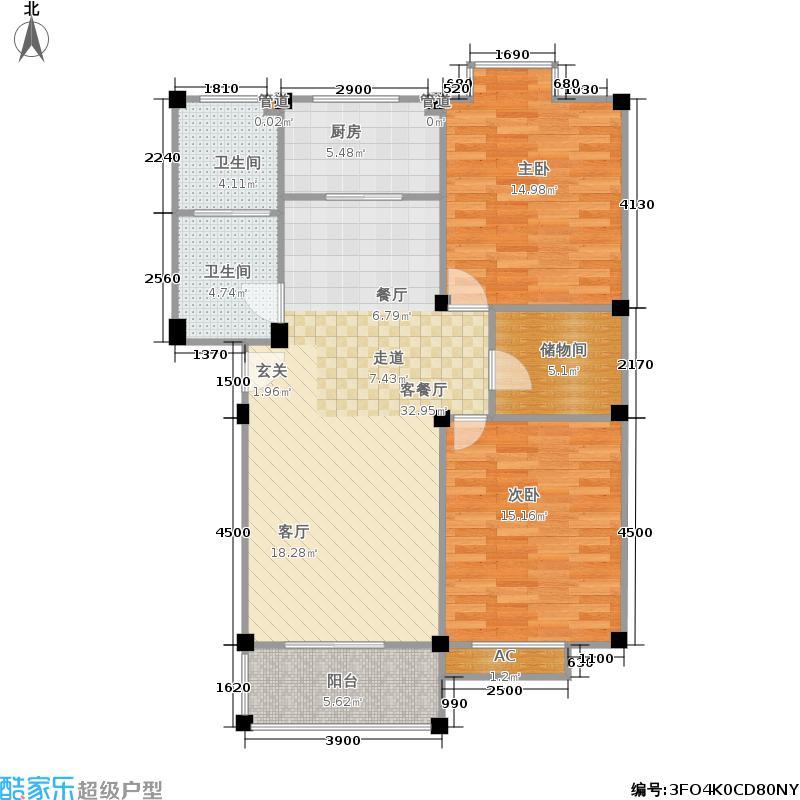 桂花园248.00㎡面积24800m户型