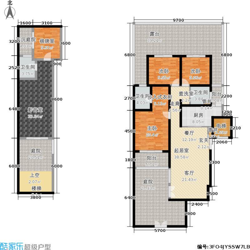 佳信南山玉林131.00㎡佳信・南山玉林一期11-13号楼标准层C1户型