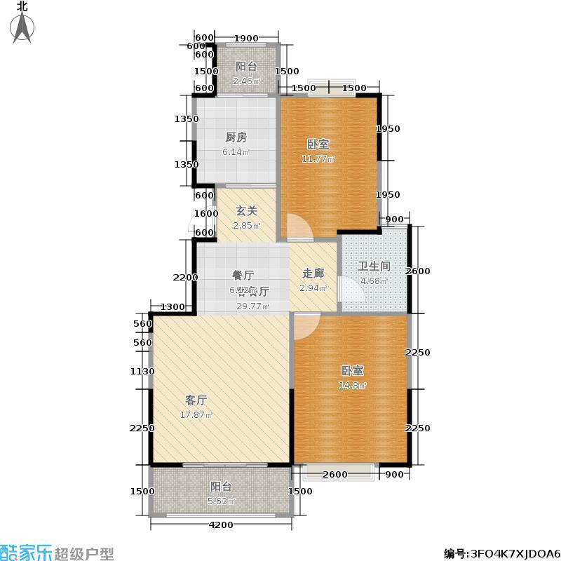 金域豪庭92.59㎡户型