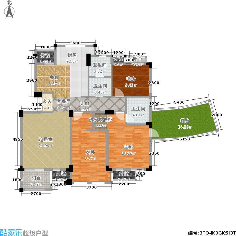 戈雅公寓134.81㎡面积13481m户型