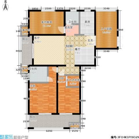 尊悦大厦2室1厅2卫1厨181.00㎡户型图