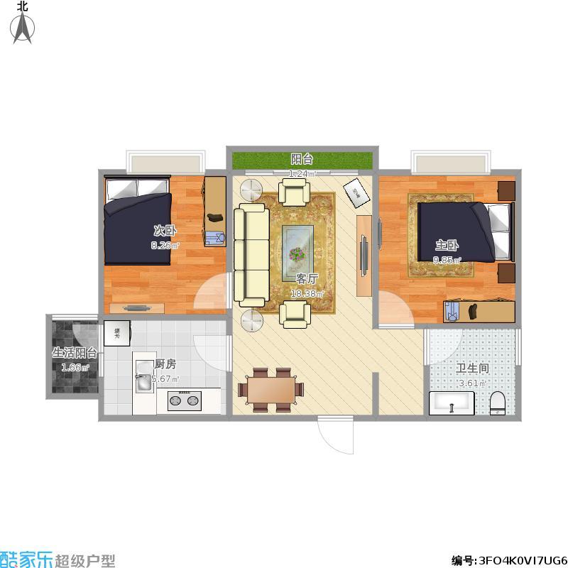 九龙仓御公馆B1