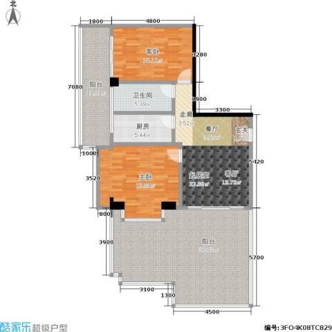 颐和雅轩2室0厅1卫1厨112.59㎡户型图