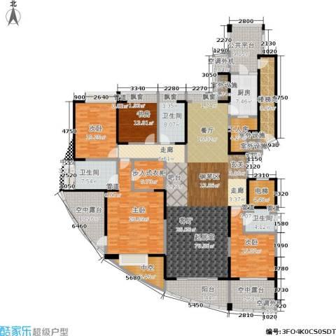 湖滨花园4室0厅3卫1厨247.00㎡户型图