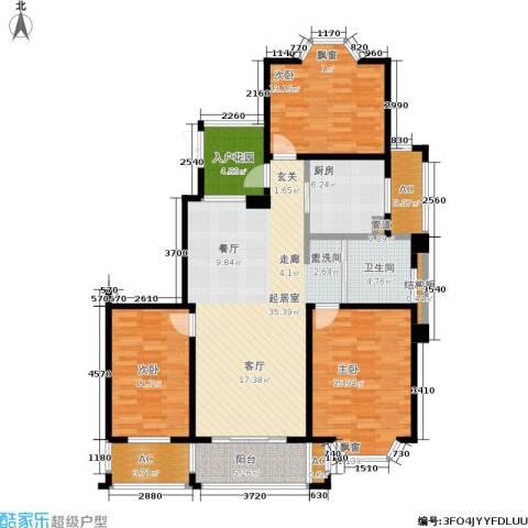凯阳花园3室0厅1卫1厨119.00㎡户型图