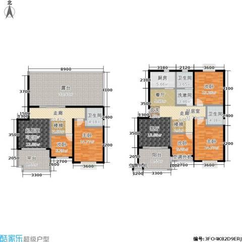 幸福美地5室0厅3卫1厨186.31㎡户型图