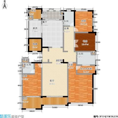 石湖天玺4室0厅3卫1厨243.00㎡户型图