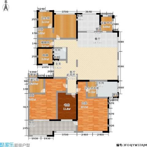 石湖天玺4室0厅4卫1厨233.00㎡户型图