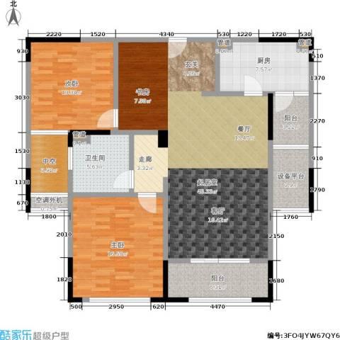 万科御玲珑2室0厅1卫1厨110.00㎡户型图