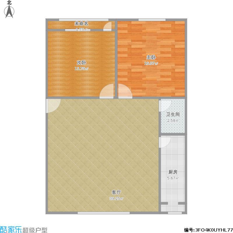 82平两室一厅