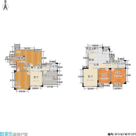 东方维罗纳3室2厅2卫0厨165.00㎡户型图