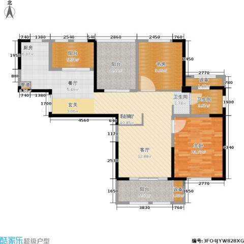 东方维罗纳2室1厅1卫0厨101.00㎡户型图