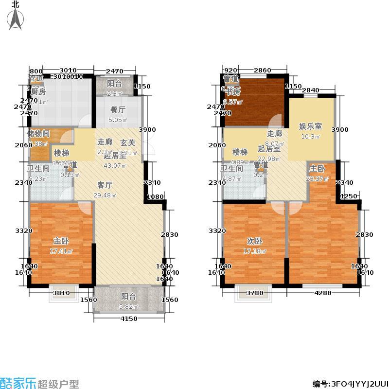 中电颐和府邸178.59㎡一期小高层H1户型