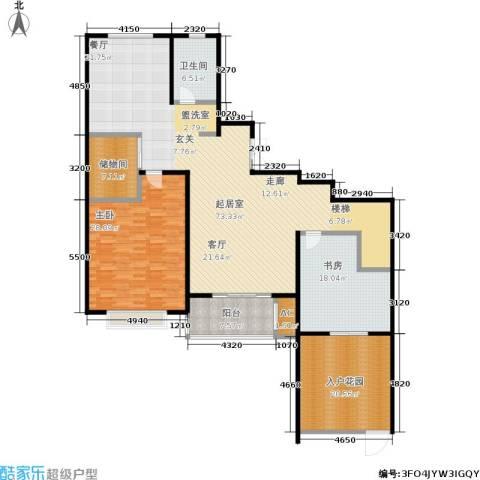乌桥水岸花园2室0厅1卫0厨179.00㎡户型图