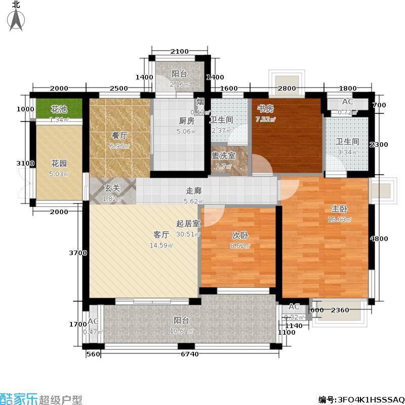 辉煌国际城一期3栋、5栋、10栋奇数层户型