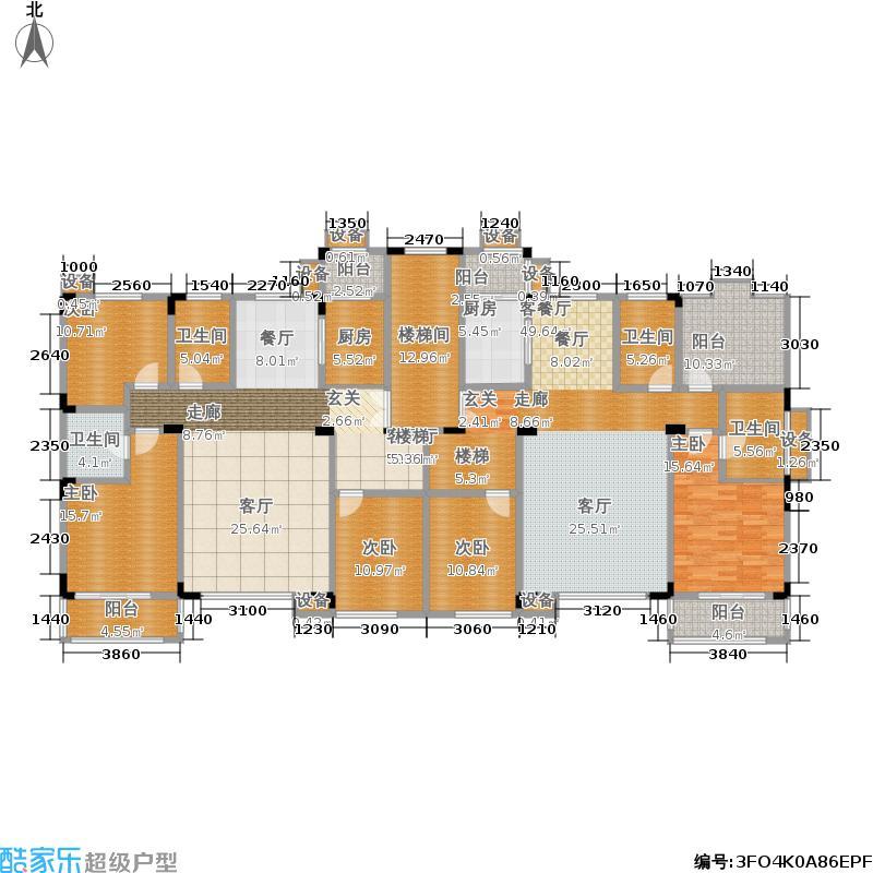 洛卡小镇一期情景洋房As四层户型