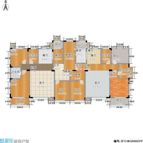 洛卡小镇5室2厅4卫2厨267.50㎡户型图