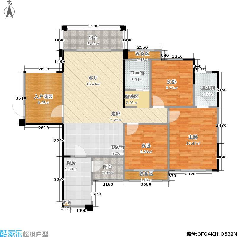 中悦领秀城G户型3室2厅