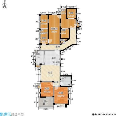 多蓝水岸2室0厅1卫1厨137.04㎡户型图