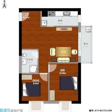 鼎峰新立方1室1厅1卫1厨94.00㎡户型图