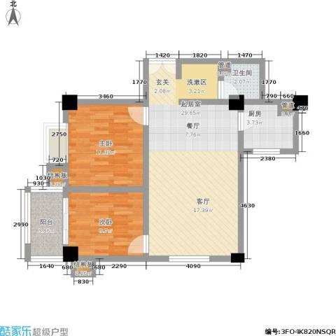 丽苑1682室0厅1卫1厨70.00㎡户型图