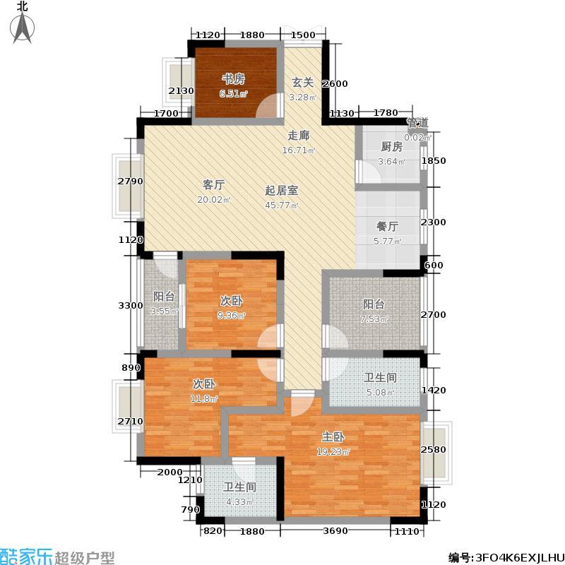 财富国际广场财富国际广场户型图(16/30张)户型10室