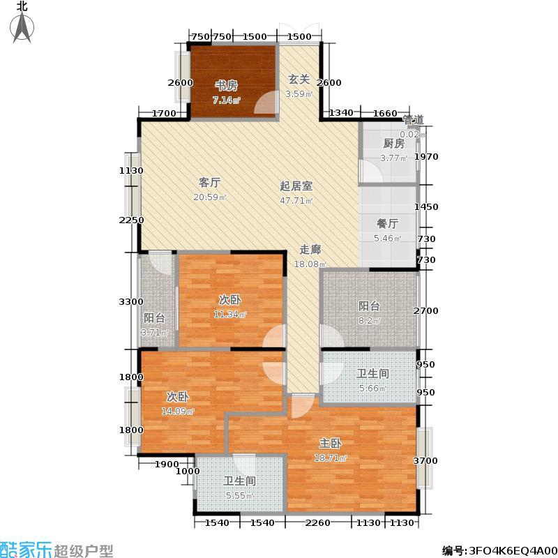财富国际广场财富国际广场户型图(6/30张)户型10室