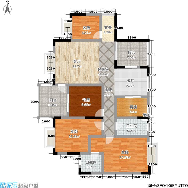 财富国际广场财富国际广场户型图(24/30张)户型10室