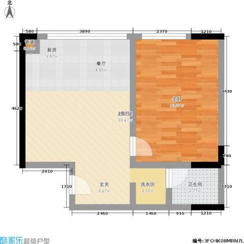 颐和宫1室0厅1卫0厨52.00㎡户型图