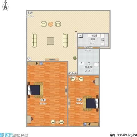 三箭吉祥苑2室1厅1卫1厨288.00㎡户型图
