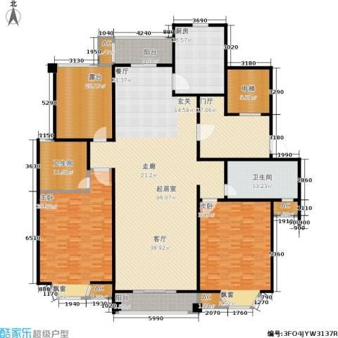 华府壹区2室0厅2卫1厨300.00㎡户型图